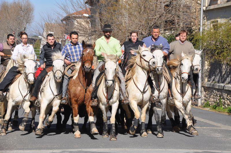 L equipe de cavaliers de la manade coloma blog